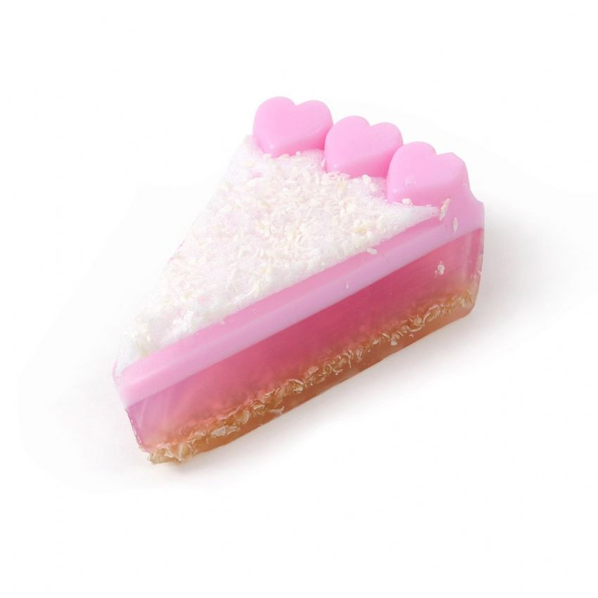 Coco Cabana Coconut Soap Cake Slice - Bath Bubble & Beyond 200g